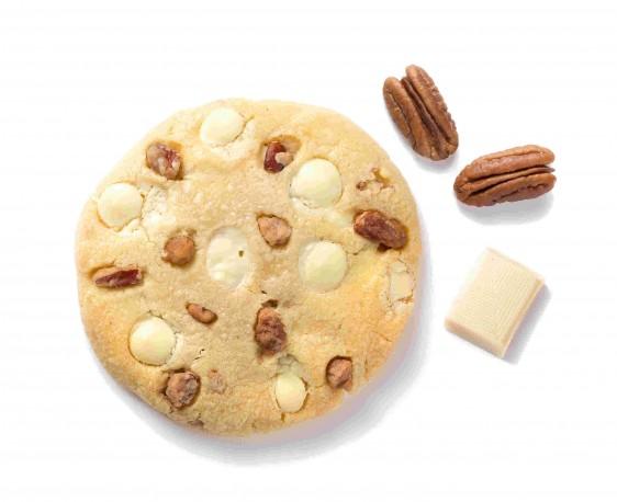 Chocolat blanc, noix de pécan