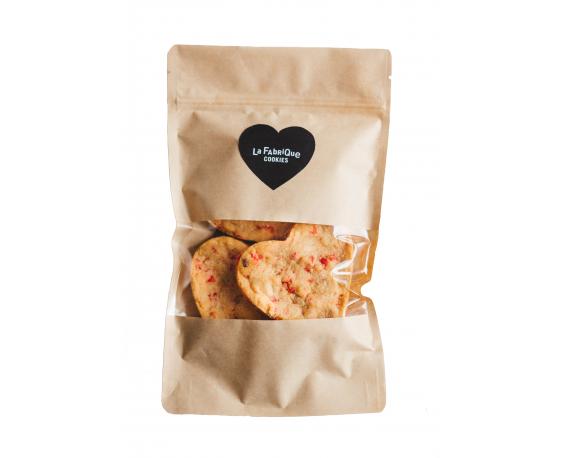 """Sachet de 4 cookies """"Coeur"""""""