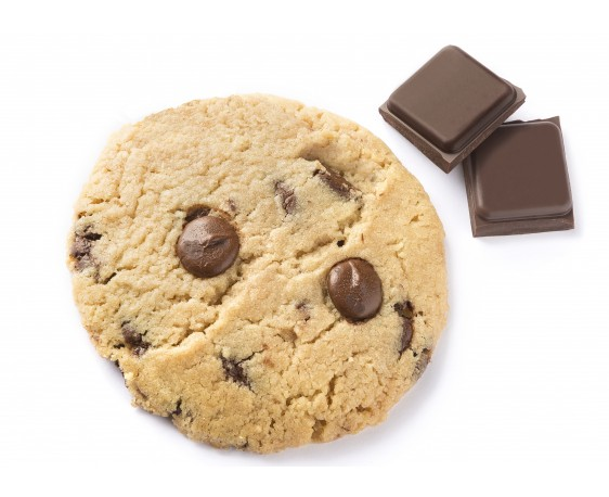 Cookie au chocolat noir BIO x4