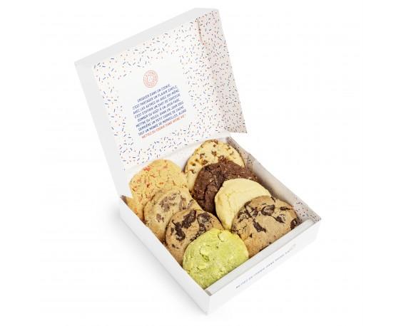 Box mensuelle - Boîte de 8 cookies